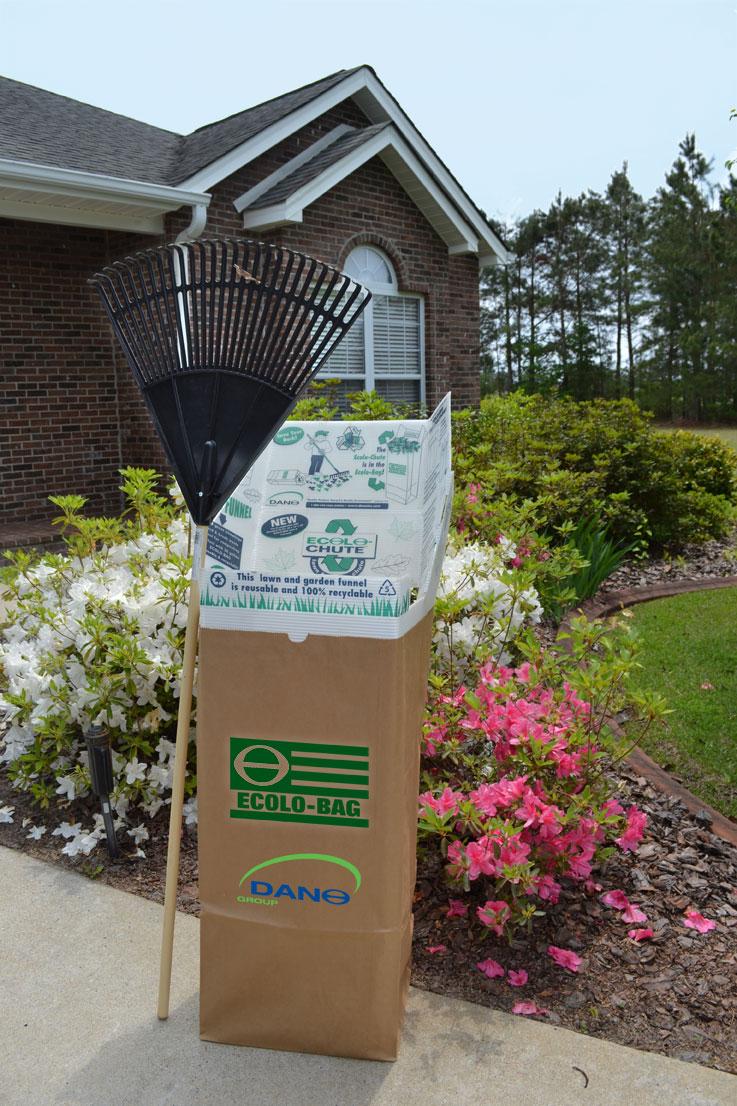 Lawn Garden Leaf Paper Bags Custom Trash