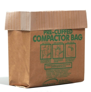 Pre-cuffed compactor bag on white_s