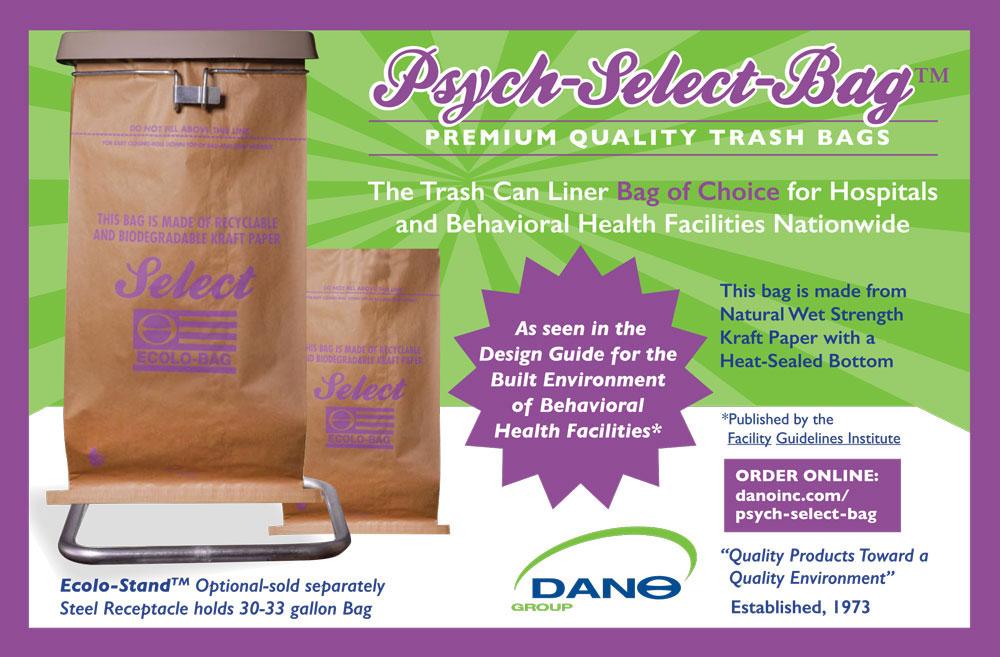Trash Can Liner for Hospitals Kraft paper